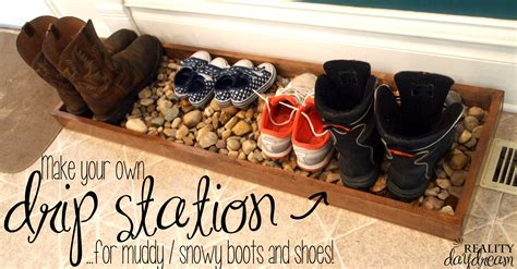drip tray for muddy or shoes reality daydream