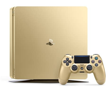 play station 4 console playstation 4 slim 1tb gold console 711719510048 ebay