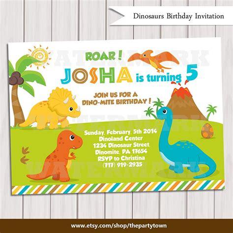 printable birthday invitations dinosaur dinosaur birthday invitation dinosaur invitation printable