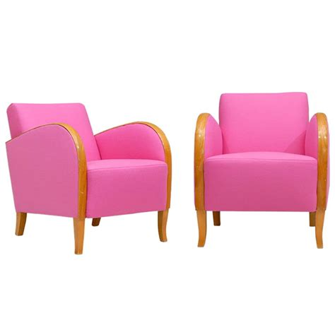 hot pink armchair hot pink deco chairs at 1stdibs