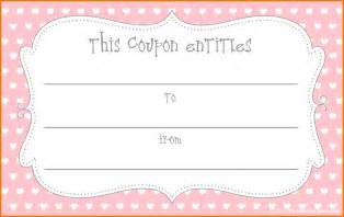 coupon template free blank coupon template masir