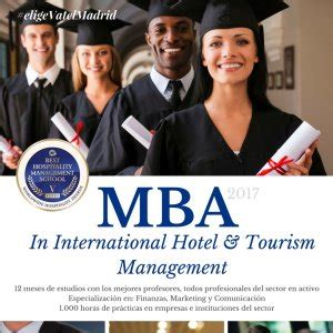 Mba In Canada With 3 Year Degree by Postgraduate Degree Mba In International Hotel