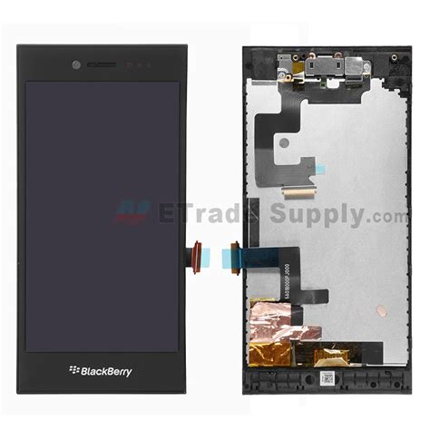 Blackberry Leap Tempered Glass Kaca Original 100 blackberry leap lcd assembly with frame and front black etrade supply