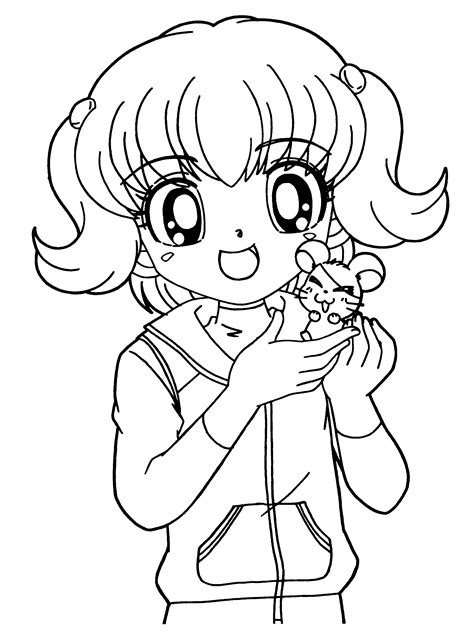 cute anime animals coloring pages anime animals coloring pages for adults az coloring pages