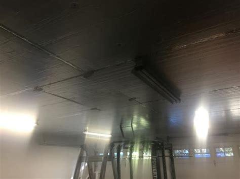 Garage Ceiling Insulation Board by Garage Ceiling And Insulation Rigid Foam Board Install