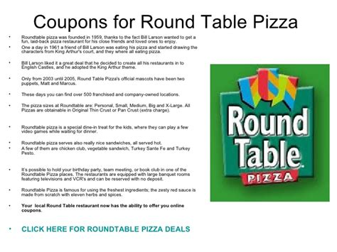 coupons for table pizza