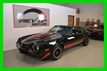 buy used 1981 chevrolet camaro z28 free shipping gm crate