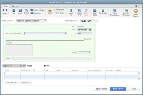What If I Need To Customize Check Forms In Quickbooks Insightfulaccountant Com Quicken Check Printing Template