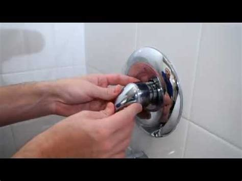 my bathtub is leaking how to fix a leaky tub shower faucet youtube