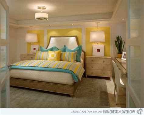 Gray And Yellow Bedrooms - 15 gorgeous grey turquoise and yellow bedroom designs decoration for house