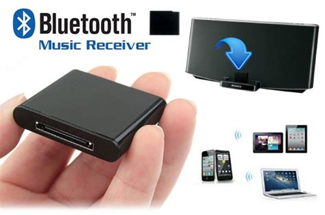 30pin Vga With Audio 1 wireless bluetooth receiver adapter for 30 pin apple