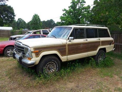 1987 jeep wagoneer buy used 1987 jeep grand wagoneer base sport utility 4