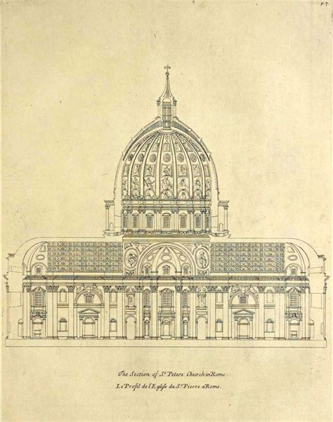 saint peter basilica architectural floor plan vatican city 1933 renaissance architecture 221 best history of architecture images on pinterest