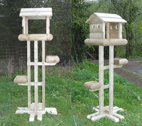 Handmade Bird Tables - delux bird table copy the wooden workshop oakford