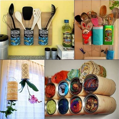 home decor with recycled materials ideas para reciclar latas latas pinterest ideas para