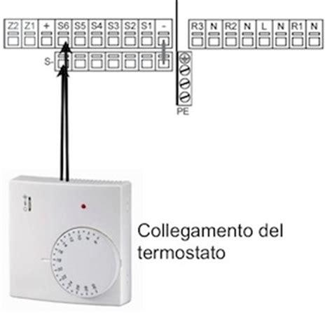 collegamento termostato caldaia e possibile collegare un termostato ad una centralina