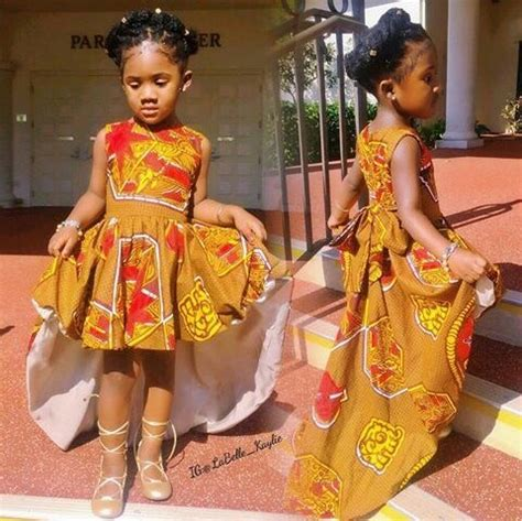 Fabulous Traditional Attire For Our Adorables