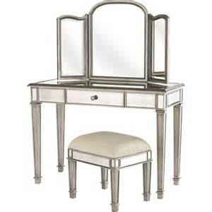 Makeup Vanity Table Pier One Pier 1 Mirrored Furniture The Hayworth Collection Chic