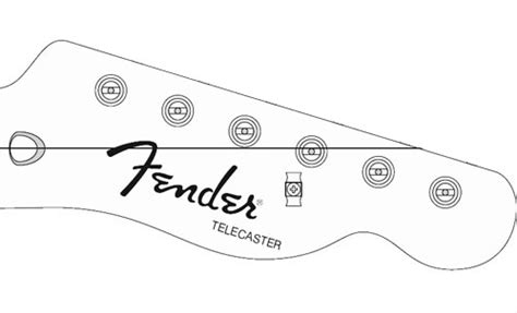 telecaster headstock template telecaster headstock template pdf