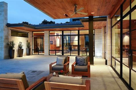 cornerstone architects hill country residence by cornerstone architects