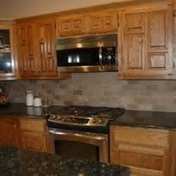 light colored tile backsplash ideas with dark cabinets oak cabinets foter