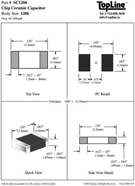 1206 resistor dimensions 1206 chip resistor footprint 28 images 贴片电容 chip capacitors 1206 smd soldering pad size 28
