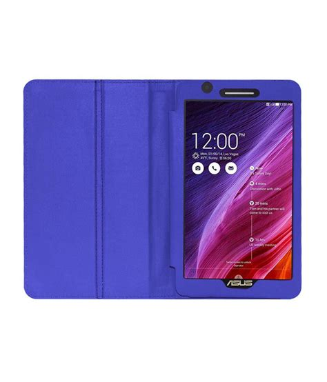 Leather Flip Cover View Original Ume Asus Fonepad Fe 380385 8 In acm leather front back cover stand flip for asus fonepad 7 fe171cg tablet blue cases