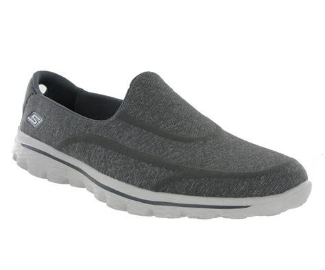 new womens skechers go walk 2 sock comfort shoes