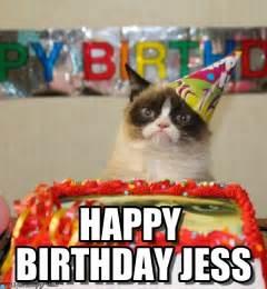happy birthday jess i had a birthday once meme on memegen
