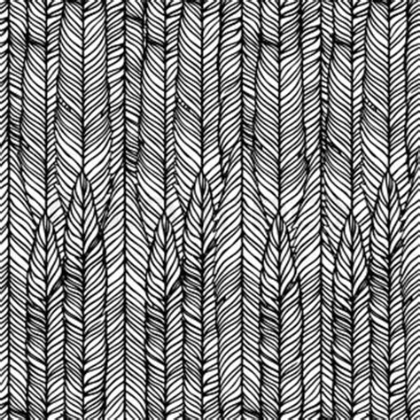 black and white feather pattern vector of optical illusion black and white abstract