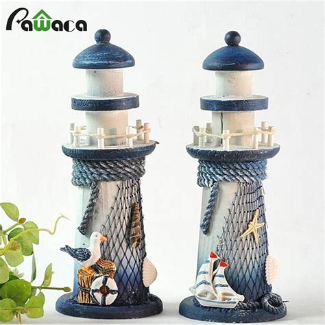 mediterranean style creative big size wooden lighthouse popular wooden lighthouse buy cheap wooden lighthouse lots