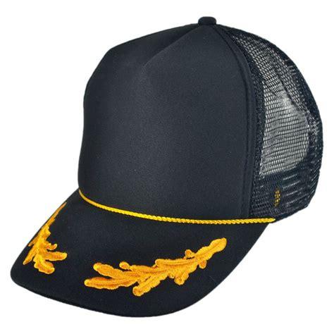 otto gold leaves mesh trucker baseball cap snapback hats