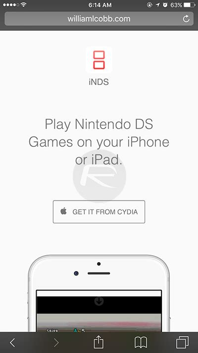 i mod game cydia source how to get inds nintendo ds emulator on ios 9 redmond pie