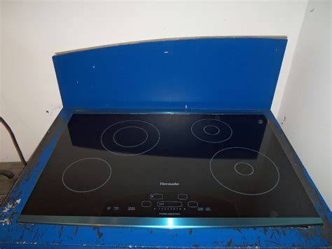Thermador Hybrid Induction Cooktop thermador 30 034 hybrid induction cooktop cit302ds black condition ebay
