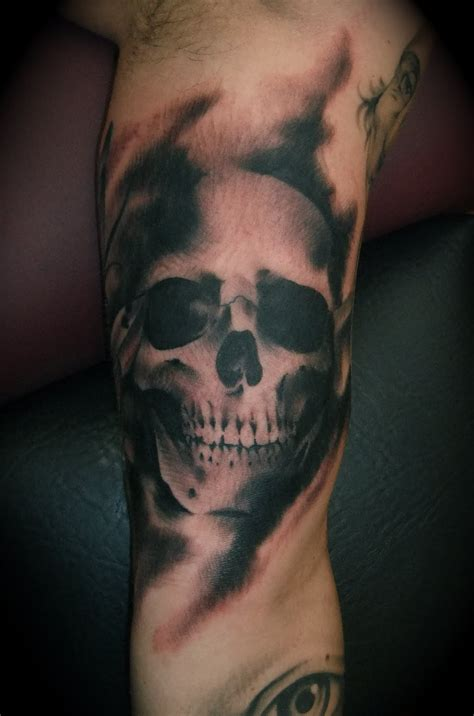 skull and smoke tattoo designs skull designs ideas magment