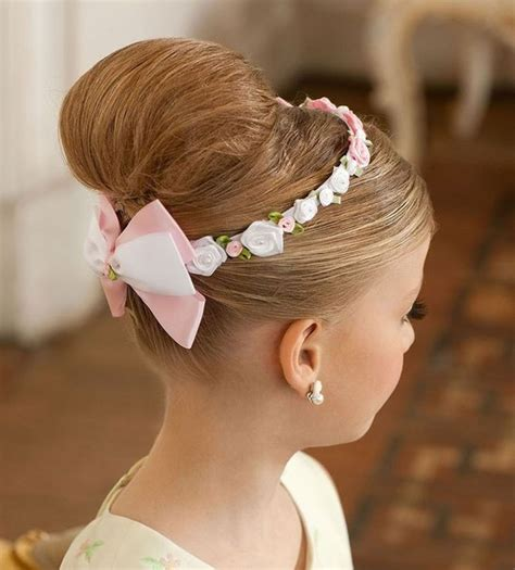 beautiful little girls hairstyles for long hair little girl updo hairstyle beauty pinterest updo