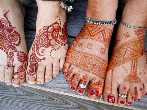 henna tattoo thailand thai foot and henna workshop hennas