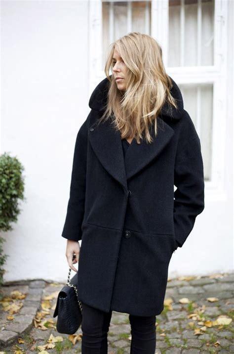 Coat Hair Style Photos | minimal chic co de f orm style minimal