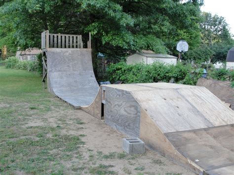 building a halfpipe in your backyard i need help building a dirt jump for tricks page 2