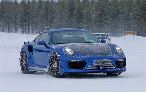 camo porsche 911 2017 porsche 911 gt2 spied in winter testing with no camo