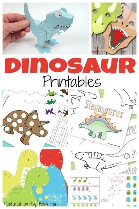 free printable preschool dinosaur activities a ton of free dinosaur printables for kids dinosaur