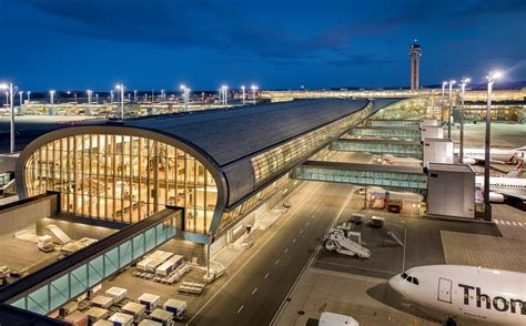 avinor oslo airport building  architect