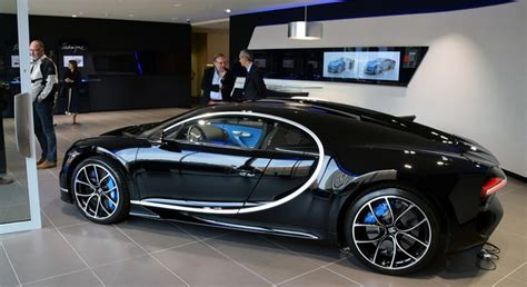 bugatti showroom inside the largest bugatti showroom in europe
