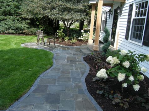 bluestone brick front entrance steps masonry patios walkways
