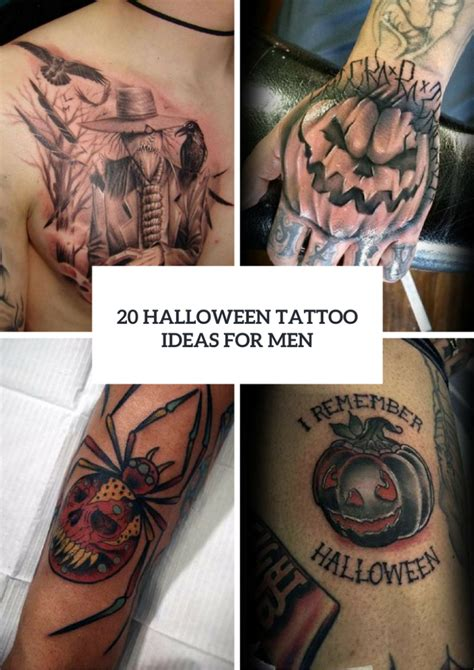 halloween tattoo ideas 20 ideas for to try styleoholic