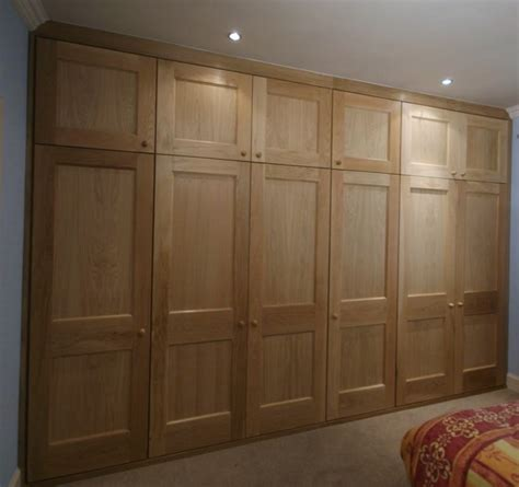 Fitted Oak Wardrobes by Www Simonfowler