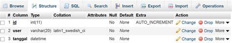cara membuat website dengan menggunakan php dan mysql cara input tanggal otomatis menggunakan php mysql