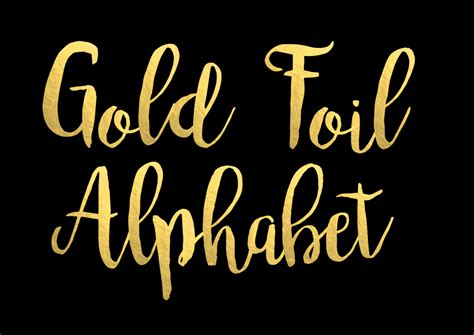 Foil Lettering best of gold lettering font how to format a cover letter