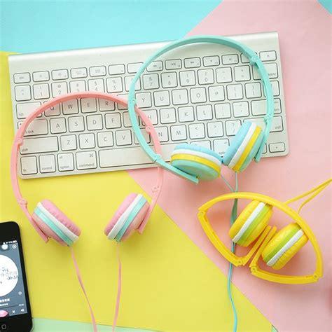 Ziggy Pastelle Pink shop mini macaron wired ear hook mic pu