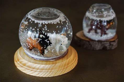 Handmade Snow Globes - lovely imperfection diy snow globe lovely imperfection